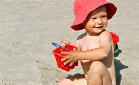 Strandurlaub mit Kindern