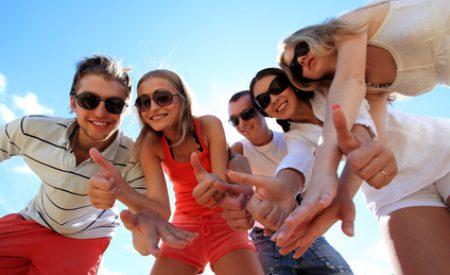 Jugendurlaub an der Ostsee