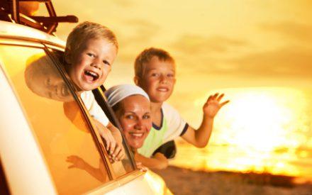 Checkliste zum Urlauben mit Kindern