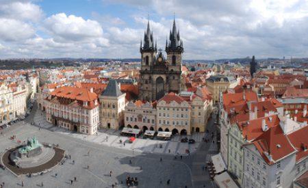 Mit Kind und Kegel nach Prag