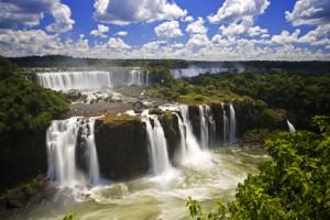 Überwältigendes Naturschauspiel - die Wasserfälle von Iguazú in Argentinien