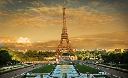 Der Mittelpunkt Frankreichs: Paris