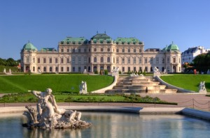 Ein Schloss in Wien