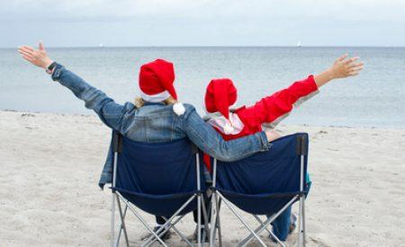 Weihnachtlicher Familienurlaub an der Nordsee