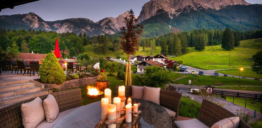 Alpen-Wellness im Zugspitzdorf