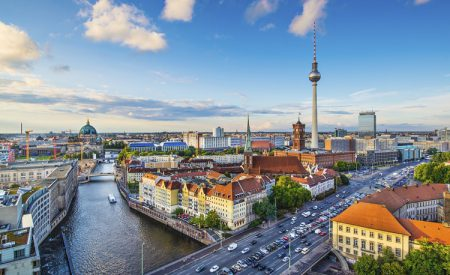 Mit dem Fahrrad durch Berlin-City