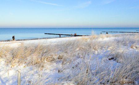 Drei Gründe: Ostsee im Winter