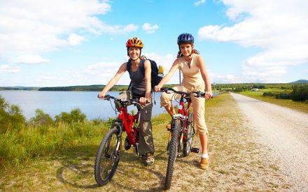 Mit dem Fahrrad ein Mal um den Bodensee