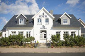 Hotel Hof Galerie Morsum / Sylt