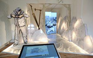 Alte Techniken werden im Elbschifffahrtsmuseum plastisch vorgeführt - zum Beispiel im Eisraum. Foto: djd/Stadt Lauenburg/Elbe/Uwe Franzen