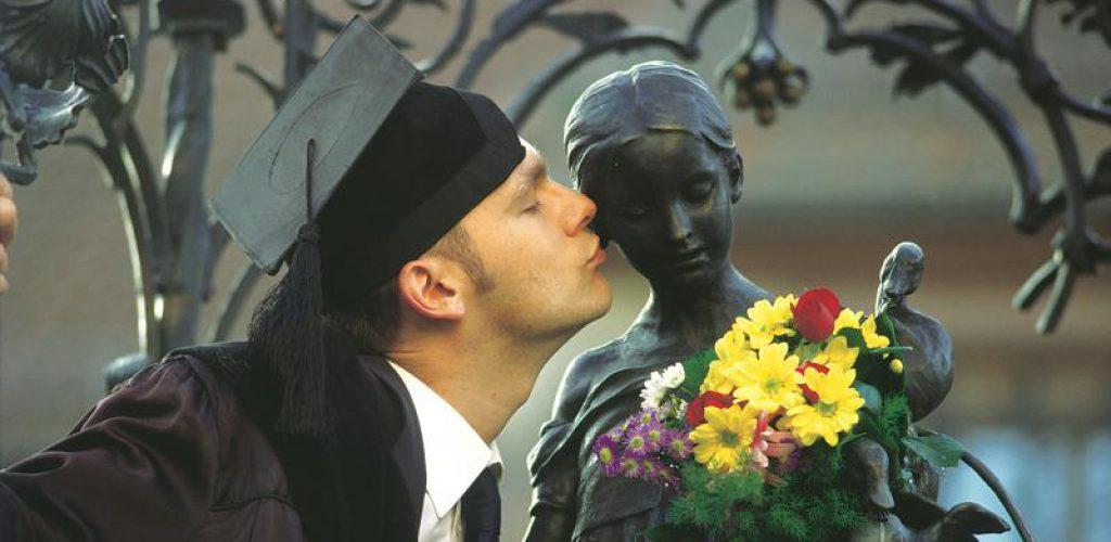 Das meist geküsste Mädchen der Welt