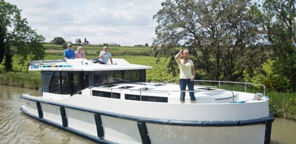 Hausbootferien mit Freunden