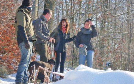 Tief durchatmen im Winterwald